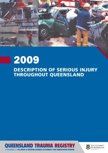 QTR Statewide Annual Report 2009 - School of Medicine ...