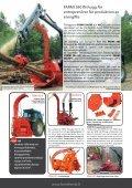 effektiv och högproducerande flishugg av skivtyp - Farmi Forest - Page 5