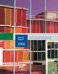 Annual Report 2004 - FCC