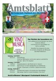 Das Weinfest der besonderen Art, - Durbach