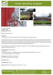 1. FC Köln - Eventreisen - Trierischer Volksfreund