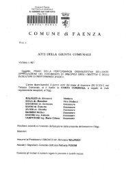 Fase 1 - Comune di Faenza