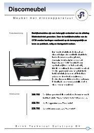 Folder Discomeubel - Brink Techniek