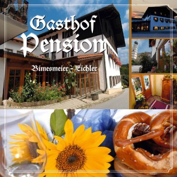 Hausprospekt (pdf 1,22 MB) - Gasthaus Pension Bimesmeier - Eichler