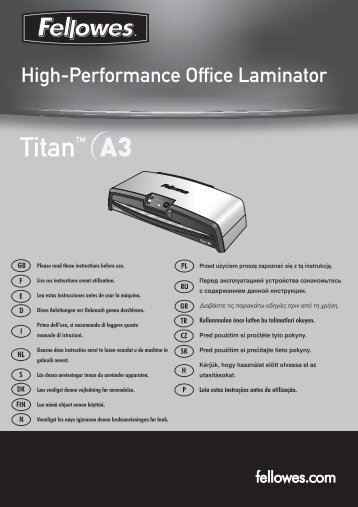 Titan Titan - Fellowes