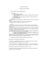 GHIDUL DE STUDIU Disciplina S n tatea Mediului Titlul cursului - UMF