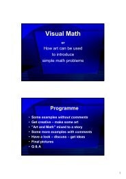 Visual Math - EH-Mat
