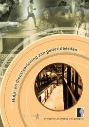 Hulp- en dienstverlening aan gedetineerden, de Vlaamse ...