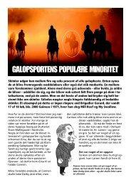 Læs om galopsportens populære minoritet - skimlerne - Galopsport.dk
