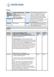 Referat fra Sentralt kvalitetsutvalg 14. mai - Vestre Viken HF
