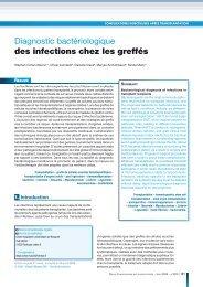 infections bactériennes chez le transplanté, Rev F Labo 2008.pdf
