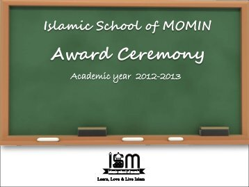 Islamic School of MOMIN