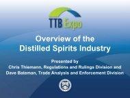 The Distilled Spirits Industry - TTB