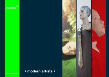 • modern artists • - modern10