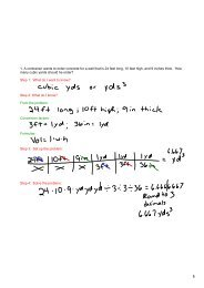 Aug 28 Homework Problems worked out - Cobb Learning