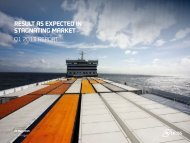 English - DFDS