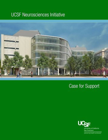 Case for Support (PDF) - Support UCSF