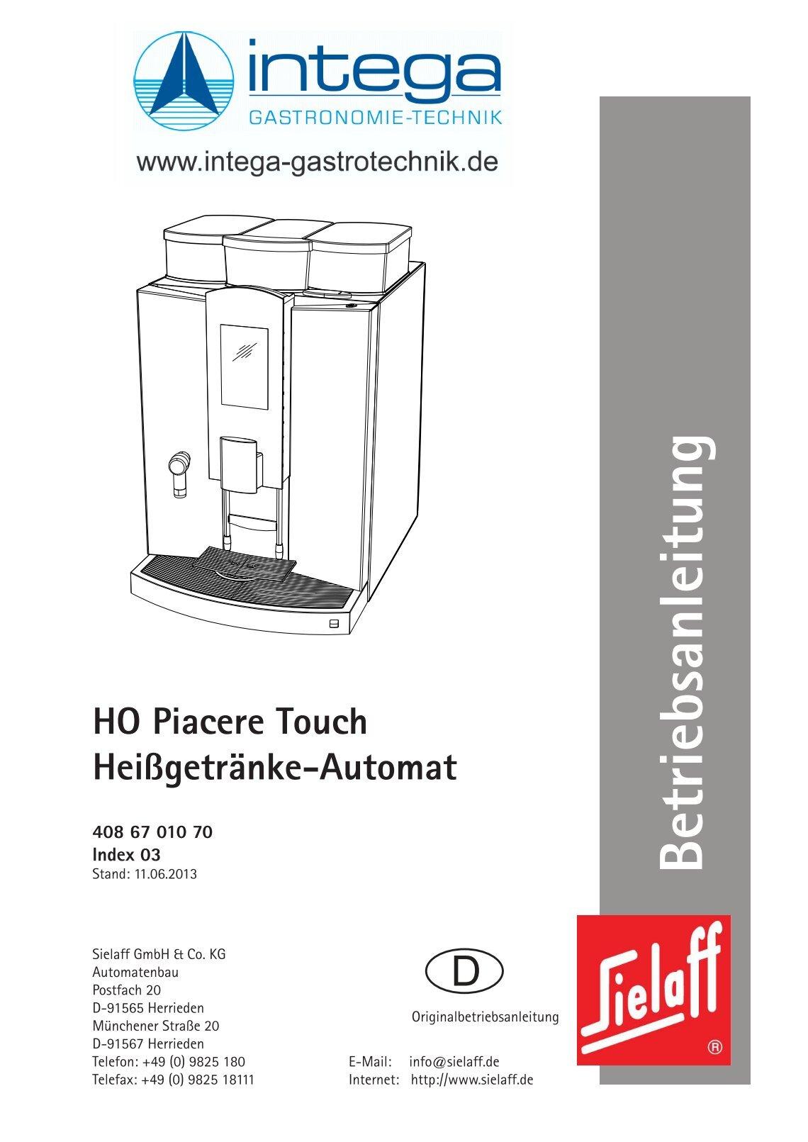 30 free magazines from intega kaffeemaschinen de. Black Bedroom Furniture Sets. Home Design Ideas
