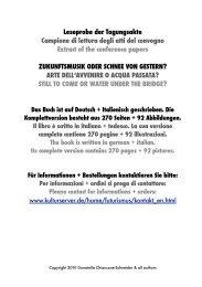 Zukunftsmusik oder Schnee von gestern? - Kulturserver NRW