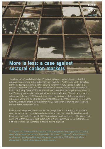 Download - Carbon Trade Watch