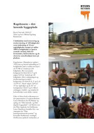 Kagshusene – den lærende byggeplads - Byens Netværk