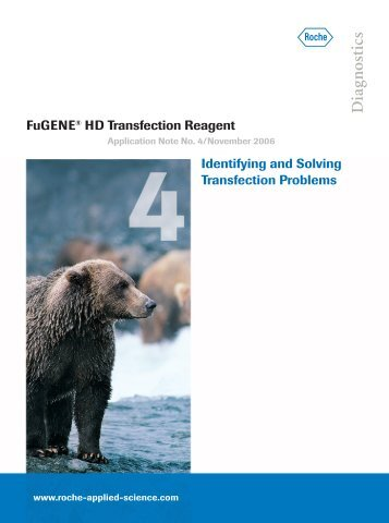 FuGENE® HD Transfection Reagent Identifying and Solving ...