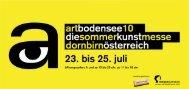 23. bis 25. juli - Messe Dornbirn