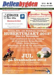 HUBERTUSJAKT 2012! - Stocka Publishing