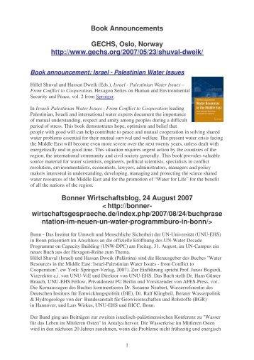 Book Announcements - Afes-press-books.de