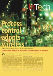 Process Control Adopts Wireless - Emerson Process Experts