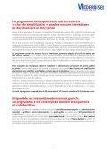 Le programme de simplification - Portail du Gouvernement - Page 2