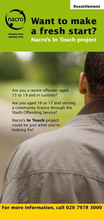 Want to make a fresh start? - Nacro