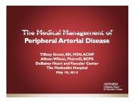Slides10Street .pdf - Society for Vascular Nursing