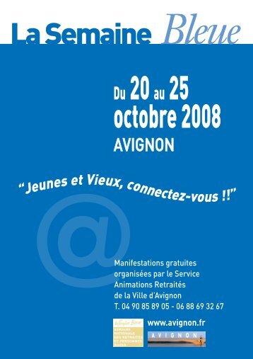 SEMAINE BLEUE 08 8 PAGES - Avignon