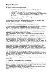 Règlement intérieur - Anexplo