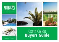 Mercers Costa Calida Buyers Guide - Spanish Property