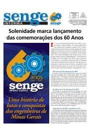 Solenidade marca lançamento das comemorações dos ... - Senge-MG