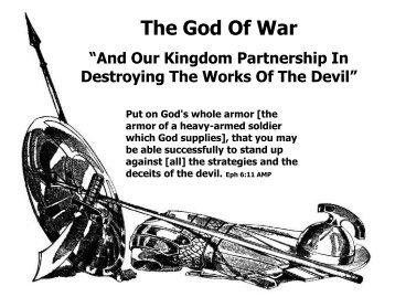 1. The God Of War - Rhm-Net.org