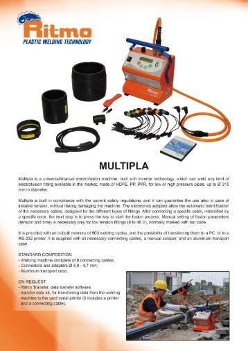 Flyer - Ritmo Multipla - Plastic Systems