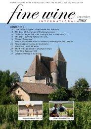 September 2008 - Fine wine magazine