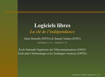 Logiciels libres - rfc1149.net