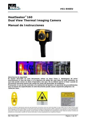 HeatSeeker 160 Dual View Thermal Imaging ... - Ideal Industries