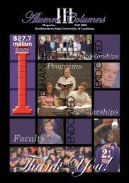 Alumni Columns - Northwestern State University Alumni