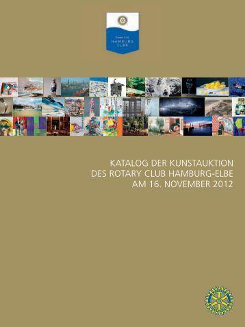 KATALOG DER KUNSTAUKTION DES ROTARY CLUB HAMBURG ...