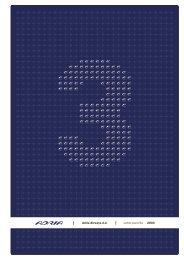 Letno poročilo 2003 - Adria Airways