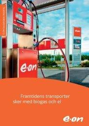 Framtidens transporter sker med biogas och el - E-on