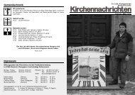 Kirchenblatt Februar/März 2010 - Kirchgemeinde Neukirch/Lausitz