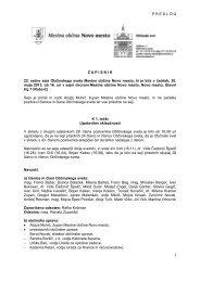 02. Pregled in potrditev zapisnika 22. redne seje Občinskega sveta ...