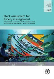Stock assessment for fishery management - Library