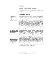 Resume - De Økonomiske Råd